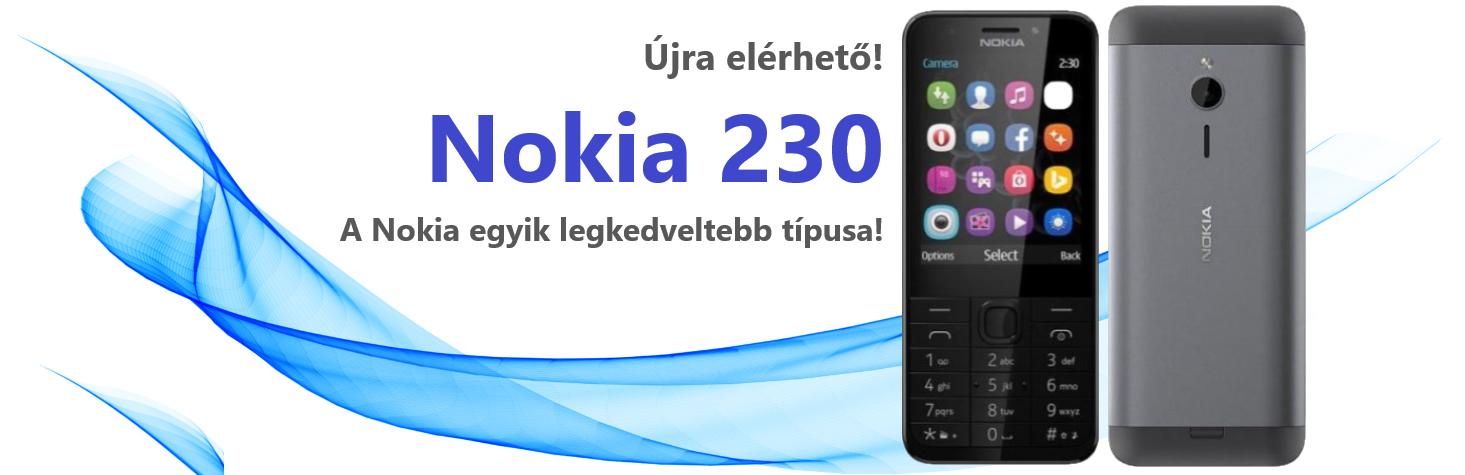 Újra elérhető! Nokia 230