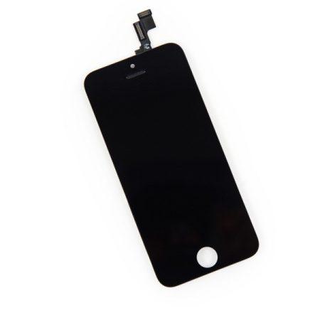 Apple iPhone 5S / SE fekete LCD kijelző érintővel