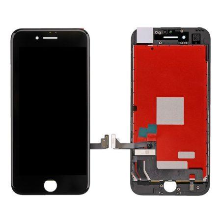 Apple iPhone 7 fekete LCD kijelző érintővel