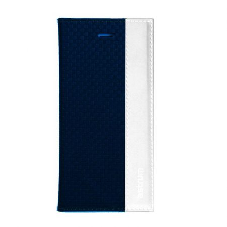 Astrum MC760 DIARY mágneszáras Microsoft Lumia 950 könyvtok sötétkék-fehér