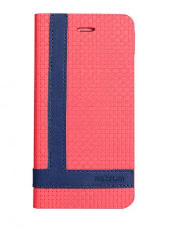 Astrum MC790 TEE PRO mágneszáras Samsung G930 Galaxy S7 könyvtok piros-sötétkék
