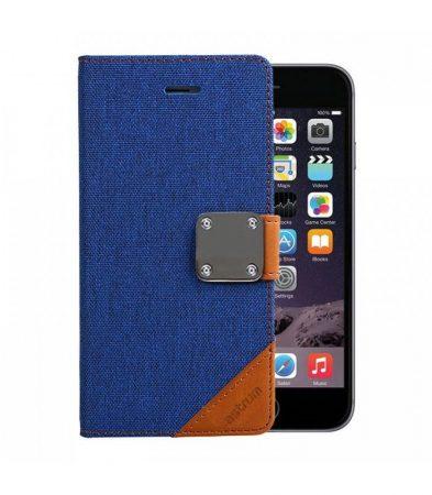 Astrum MC620 MATTE BOOK mágneszáras Apple iPhone 6 Plus / 6S Plus könyvtok kék