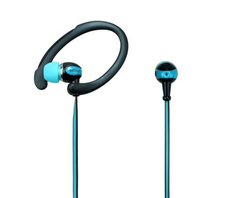 Astrum EB330 universal 3,5mm earhook blue SPORT headset with built in microphone A11033-C
