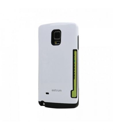 Astrum MC080 kártyatartós Samsung S6 hátlapvédő fehér