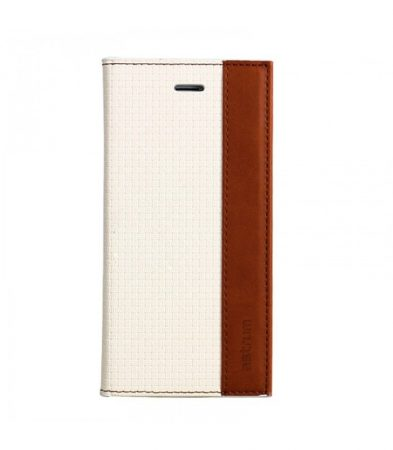 Astrum MC510 DIARY mágneszáras Apple iPhone 6/6S könyvtok fehér-barna