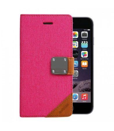 Astrum MC620 MATTE BOOK mágneszáras Apple iPhone 6 Plus / 6S Plus könyvtok pink
