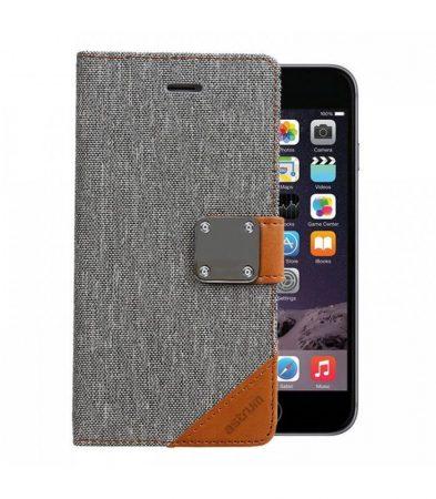 Astrum MC620 MATTE BOOK mágneszáras Apple iPhone 6 Plus / 6S Plus könyvtok szürke