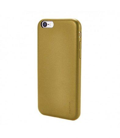 Astrum MC200 bőr hatású Apple iPhone 6 Plus / 6S Plus tok arany