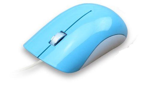 Astrum MU200 Aero Color USB kék optikai egér
