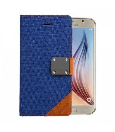 Astrum MC630 MATTE BOOK mágneszáras Samsung G920F Galaxy S6 könyvtok kék