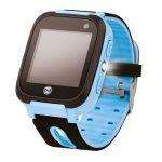 Forever KW-50 gyerek Bluetoothos okosóra LBS nyomonkövetéssel, SOS segélyhívással kék