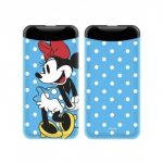 Disney Power Bank - Minnie 004 2.1A 1xUSB 6000mAh kék (DPBMIN005)