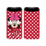 Disney Power Bank - Minnie 008 2.1A 1xUSB 6000mAh piros (DPBMIN012)