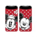 Disney Power Bank - Mickey és Minnie 001 2.1A 1xUSB 6000mAh piros (DPBMM001)