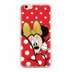 Disney szilikon tok - Minnie 015 Apple iPhone 12 / 12 Pro 2020 (6.1) piros (DPCMIN6448)