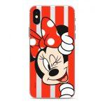 Disney szilikon tok - Minnie 059 Apple iPhone 12 / 12 Pro 2020 (6.1) átlátszó (DPCMIN39009)