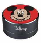 Disney Bluetooth hangszóró - Mickey 001 micro SD olvasóval, AUX bemenettel és kihangosító funkcióval piros