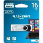 Goodram 16GB USB 2.0 fekete pendrive Artisjus matricával - UTS2-0160K0R11