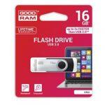 Goodram 16GB USB 3.0 fekete pendrive Artisjus matricával - UTS3-0160K0R11