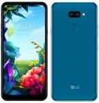 LG K40S 2GB/32GB LM-X430EMW Dual SIM kártyafüggetlen érintős mobiltelefon, kék (Android)