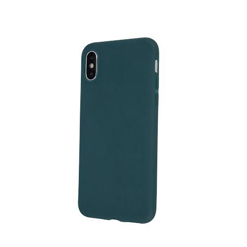 Huawei P30 Lite zöld MATT vékony szilikon tok