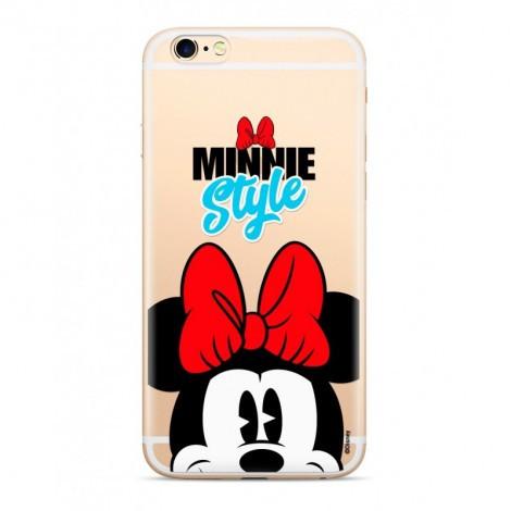 Disney szilikon tok - Minnie 027 Apple iPhone X / XS átlátszó (DPCMIN32508)