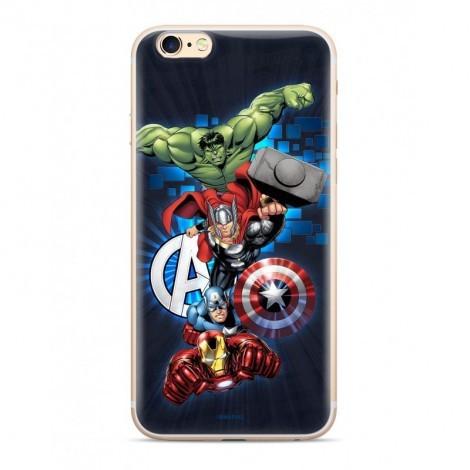 Marvel szilikon tok - Avengers 001 Apple iPhone 11 Pro (5.8) 2019 sötétkék (MPCAVEN134)